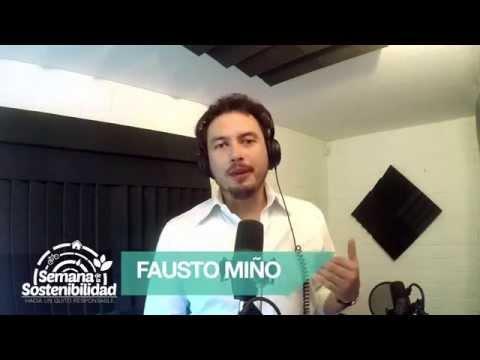 Invitación Fausto Miño - Semana de la Sostenibilidad Quito 2015