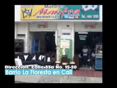 Muebles y Comedores en Cali - Muebles Manfra - YouTube
