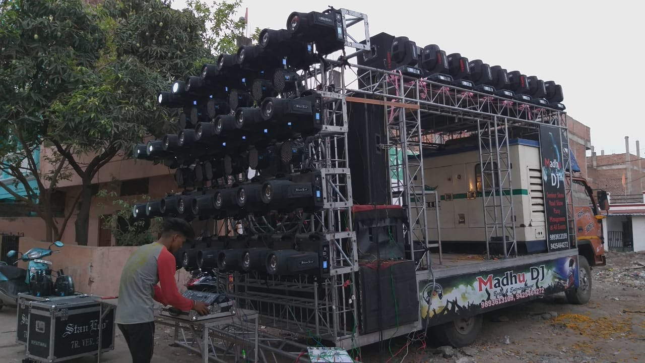 Download BHOPAL NO.1 DJ  FULL LOADED AND JABRDAS SOUND BARAT KAROD BHOPAL {MADHU DJ & EVENTS}