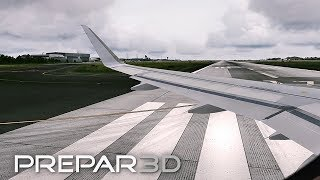[Prepar3D] AMAZING GRAPHICS i7-6700k @ 4.4GHz A320 Departure and Takeoff from Istanbul