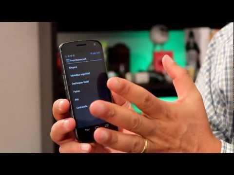 Samsung Galaxy Nexus: Conociendo más funciones