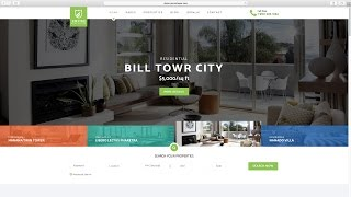 24. Create a Property Listing Website - Designing the home page 6