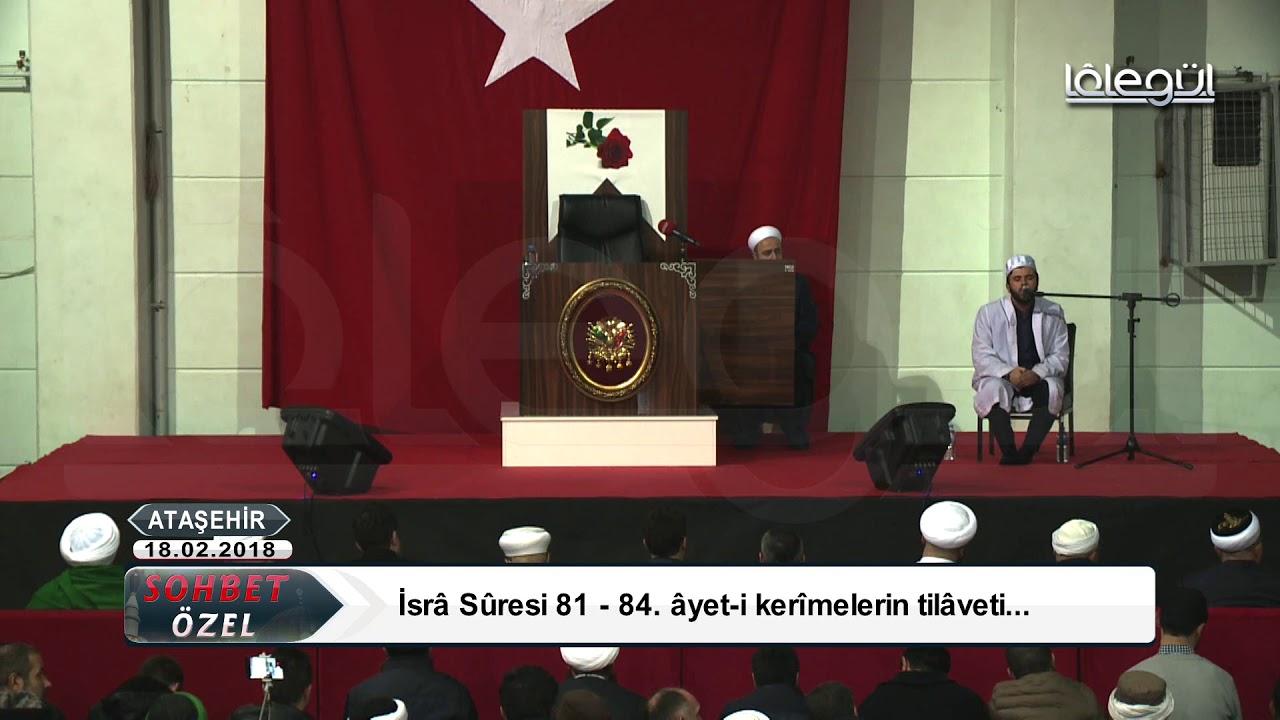18 Şubat 2018 Tarihli Sohbet Özel (İcazet) - Cübbeli Ahmet Hocaefendi Lâlegül TV