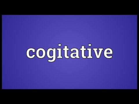 Header of cogitative