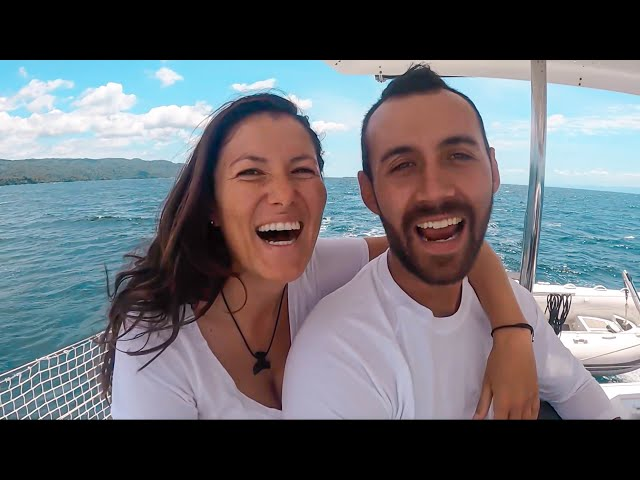 BACK TO LIVING ON A CATAMARAN but with a RAT! Sailing Vlog