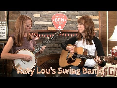 Katy Lou's Swing Banjo Solo & Licks!