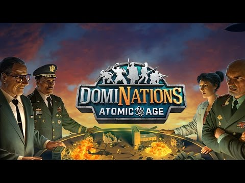 DomiNations - Atomic Age Update Trailer