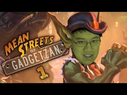 Hearthstone: Mean Streets Of Gadgetzan - Card Review Part 1 (Live At BlizzCon)
