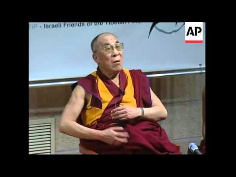 The Dalai Lama on visit, comments on Muslims, Hamas