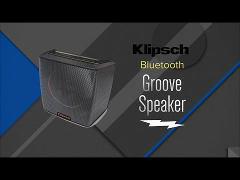 Klipsch Black Portable Bluetooth Speaker GROOVE - Overview