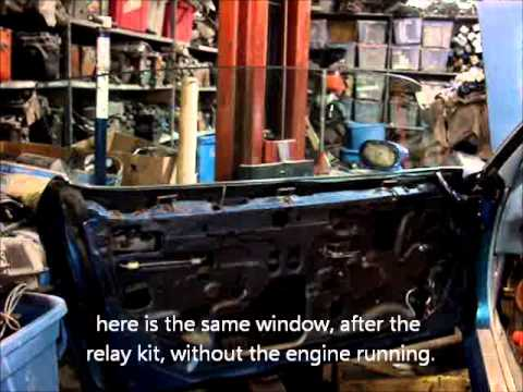 70-81 Trans Am and Camaro power window upgrade - YouTube