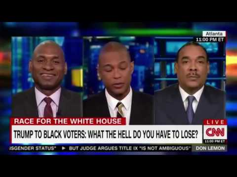 CNN: Charles Blow Goes Nuts on Bruce LeVell Over Trump's Black Outreach Bigot Rant