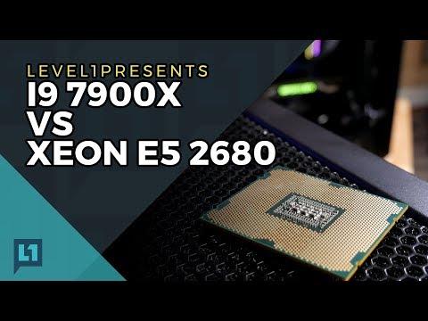 Old v. New: Xeon E5-2680 vs. i9-7900X (Sandybridge Wins!)