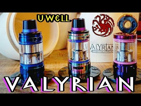 Uwell Valyrian Tank and my Take on the Crown 3 Mini I Giveaway