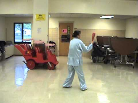 tai chi fan 52 forms mpg youtube. Black Bedroom Furniture Sets. Home Design Ideas