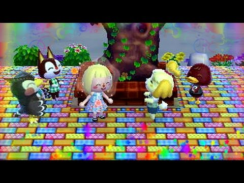 14 animal crossing new leaf visite au mus e doovi - Animal crossing new leaf salon de detente ...