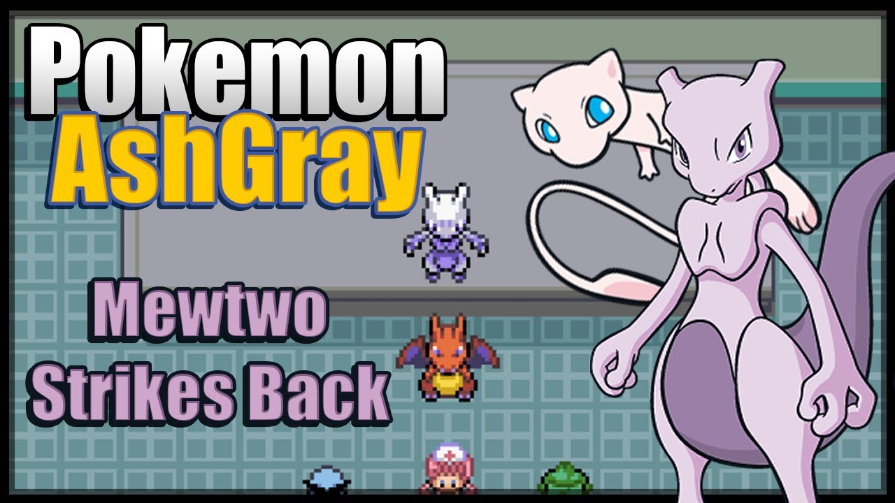 Pok\u00e9mon Ash Gray  The First Movie  Mewtwo Strikes Back