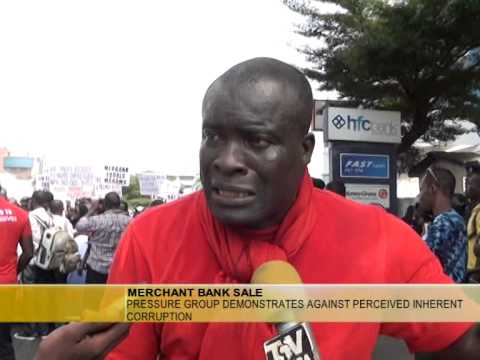 SALE OF MERCHANT BANK GHANAIANS STAGE DEMO