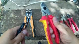 Ручной кабелерез Knipex VS кусачек Topex,Neo,Зубр,Обзор и тест кабелереза Knipex