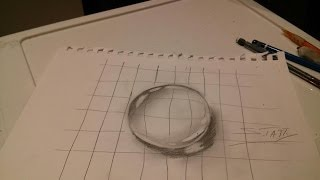 HOW TO DRAW A WATER DROP