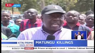 Government deploys GSU officers in Matungu to hunt down killer gangs