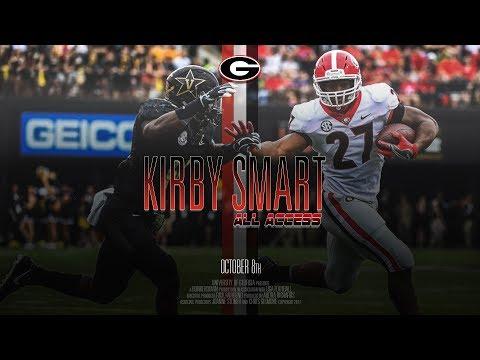 UGA Football: Ep. 6: Kirby Smart All Access vs Vanderbilt 2017