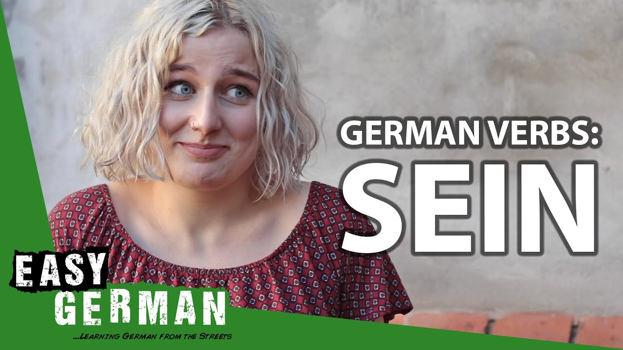 Download German Verbs: Sein | Super Easy German (149)