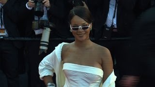 All eyes on Rihanna as she walks red carpet in Cannes