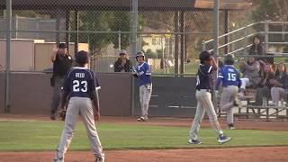 2018 Frontier Baseball Majors Dodgers vs Yankees Game 11