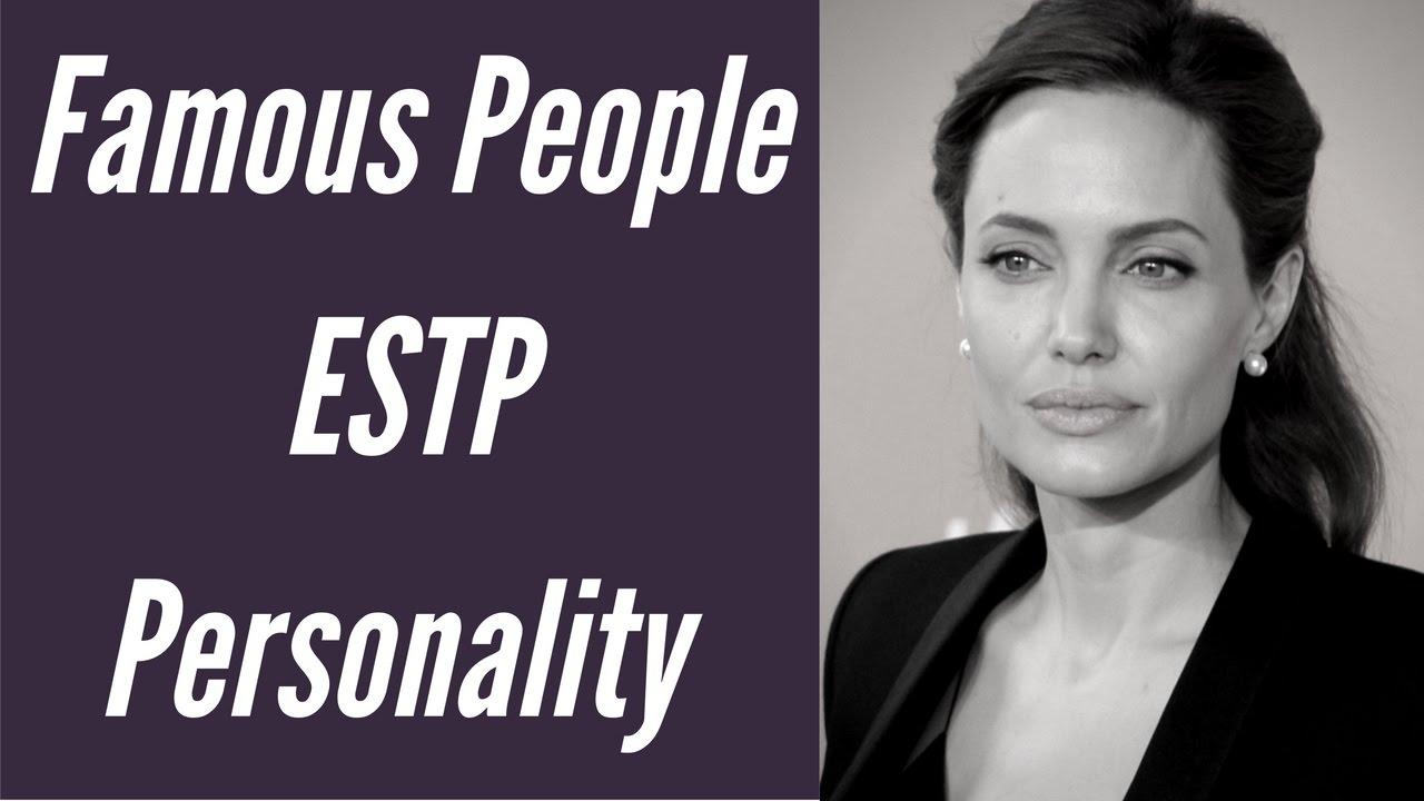 Celebrity Personality Types | MBTI ESTP Types | Career ...
