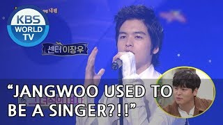 Jangwoo used to be a singer?! [Happy Together/2018.09.20]