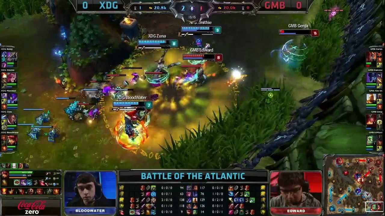 Edward Amumu support saves Genja from sure death! Gambit vs XDG game 1 |  Battle of the Atlantic