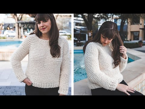 Simple Knit Sweater - start to finish!