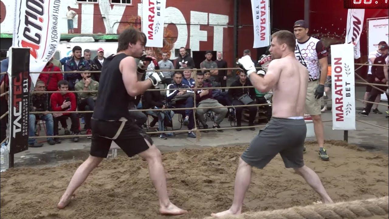 КАЧЕК вышел в ринг против Волосатого Бойца !!!