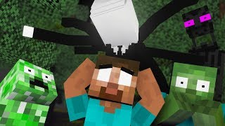Monster School : NEW CLASSMATES SLENDERMAN - Minecraft Animation