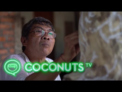 I Wayan Mudana | One of Bali's last master woodcarvers | Coconuts TV