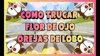 ¡¡COMO TRUCAR FLOR DE OJO+OREJAS DE LOBO!! // REGALOS MG