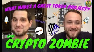 WHAT MAKES A GREAT TOKEN PROJECT? WITH CRYPTO ZOMBIE