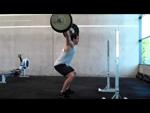 Paul Walton Crossfit Athletic OHS 80kg 42