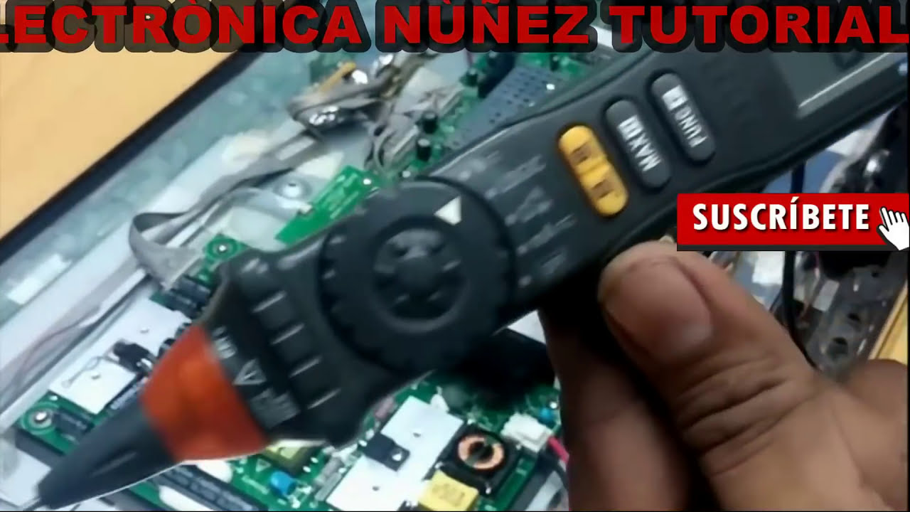 repair pantalla led rca que no enciende solo muestra de luz de ... on