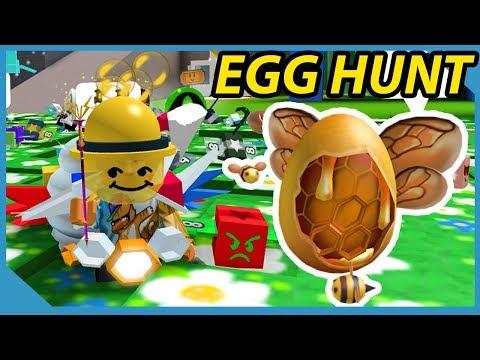 "Egg Hunt Quest ""Flight of the Bumble Egg"" Roblox Bee Swarm Simulator"