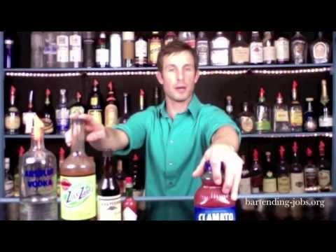 DIVE BARTENDING: Bloody Mary Drink Recipe