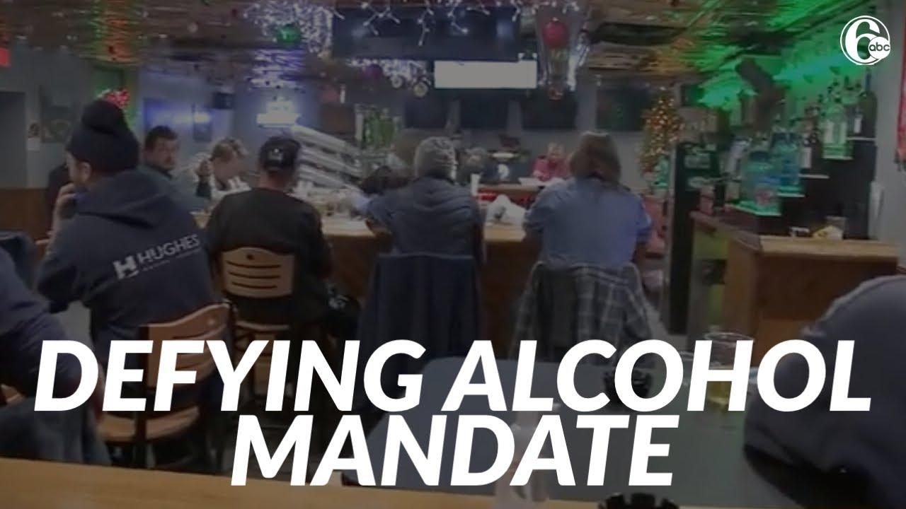 Pennsylvania bar defying state's mandate on Thanksgiving eve alcohol ban