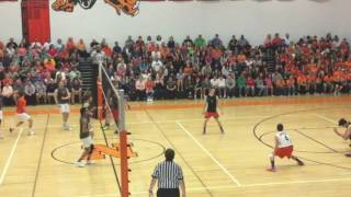 Northeastern Boys Volleyball Vs. Central York (5/12/16)