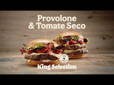 Burger King   KING SELECTION PROVOLONE & TOMATE SECO