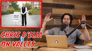 Chris D'Elia Rants About Valets at Places That Don't Need Valets