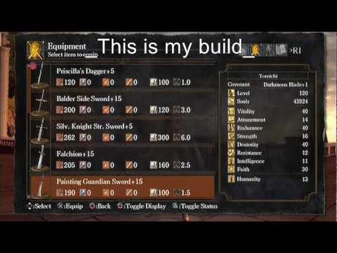 Dark Souls Dex/Faith Build SL120
