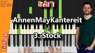 AnnenMayKantereit 3 Stock Piano Tutorial German Teil 1 Intro