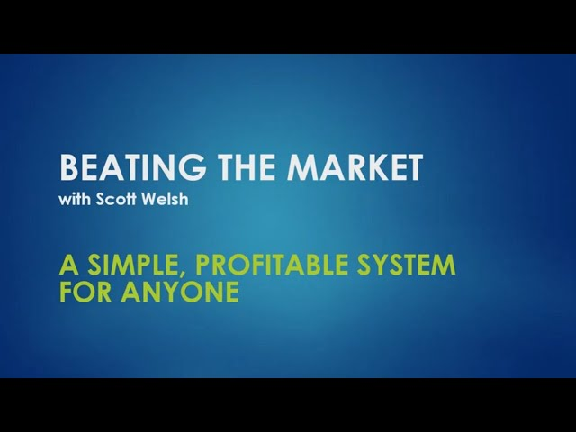 A Simple, Profitable System For Anyone