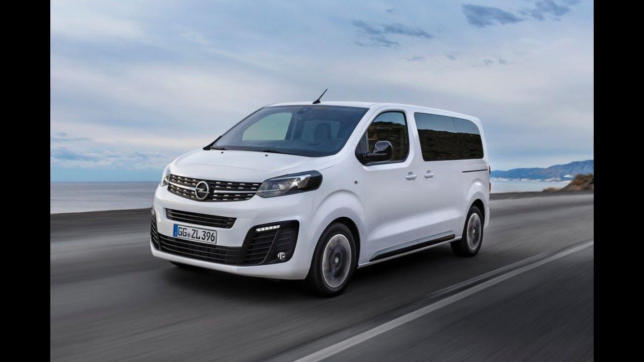 2019 Opel Zafira Life Vauxhall Vivaro Life New 9 Seater Mpv